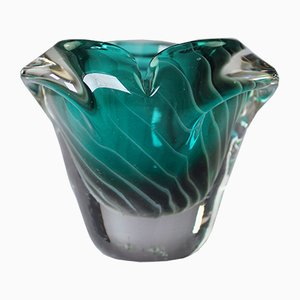 Mid-Century Finnish Emerald Green Vase by Nanny Still, 1960s