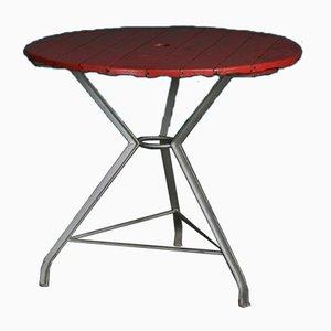 Tavolo da giardino rotondo vintage, Italia, anni '30