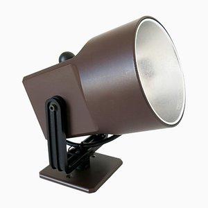 Schokobraune Lillebror Wandlampe oder Strahler von Louis Poulsen, 1970er