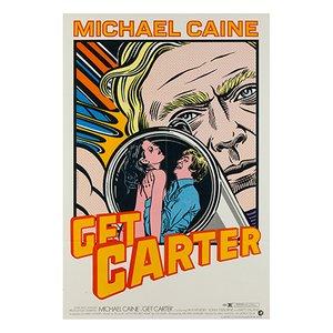 Póster de la película Get Carter de John Van Hamersveld, 1968