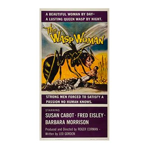 The Wasp Woman Film Poster, 1959