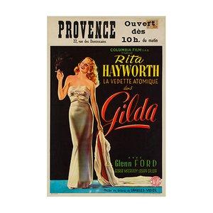 Póster de la película Gilda, 1946