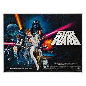 Star Wars Film Poster by Tom Chantrell, 1977