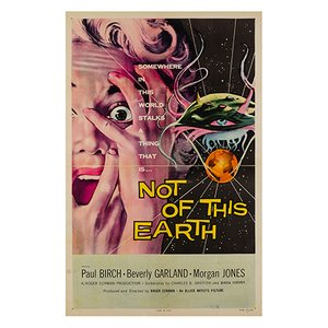 Póster Not of This Earth de Albert Kallis, 1957