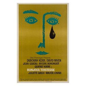 Affiche de Film Bonjour Tristesse par Saul Bass, États-Unis, 1968