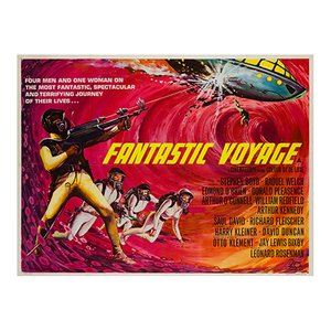 Póster de la película Fantastic Voyage, 1996