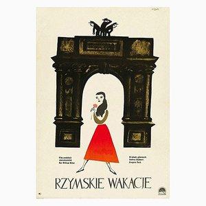 Affiche Roman Holiday par Jerzy Flisak, 1959