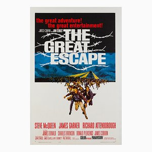 The Great Escape Film Poster by Frank McCarthy, 1963