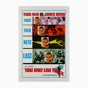 You Only Live Twice Film Poster, 1967