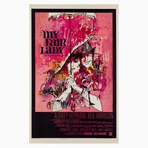 My Fair Lady Film Poster by Bob Peak, 1964