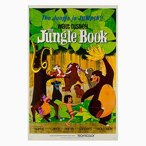 The Jungle Book Film Poster, 1967