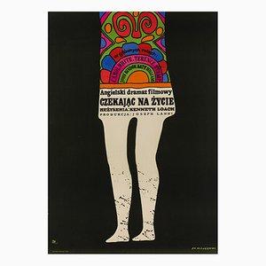 Affiche Poor Cow par Jan Mlodozeniec, 1969