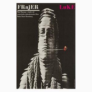 Cool Hand Luke Film Poster by Milan Grygar, 1967