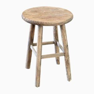 Antique Asian Wooden Stool