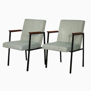 Dutch Lounge Chairs, 1960s, Set of 2