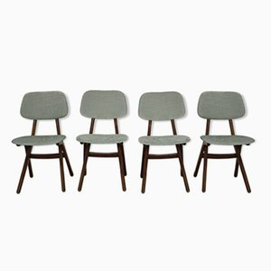 Vintage Dining Chairs by Louis van Teeffelen for WéBé, Set of 4