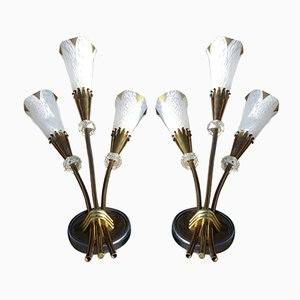 Sconces from Royal-Lumière, 1957, Set of 2