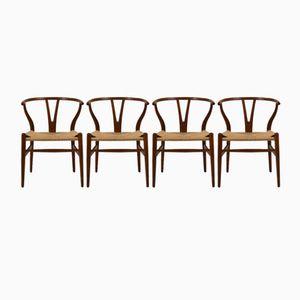 Scandinavian Dining Chairs, 1970s, Set of 4