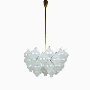 Lámpara de araña Tulipan de J.T. Kalmar para Franken KG, años 60