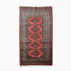 Vintage Handmade Uzbek Bukhara Rug, 1970s