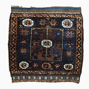 Alfombra Baluch afgana antigua hecha a mano, década de 1900