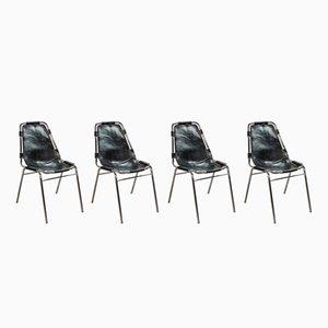 Les Arcs Stühle von Charlotte Perriand für Cassina, 1968, 4er Set