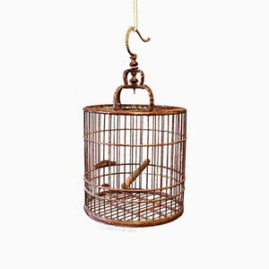 Cage à Oiseau en Bois, Chine, 1930s