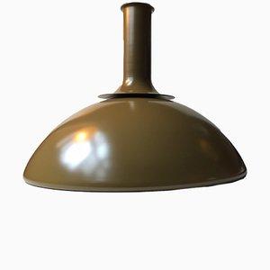 Lampe de Bureau Ballerina Vert Olive par Sidse Werner pour Holmegaard, 1970s