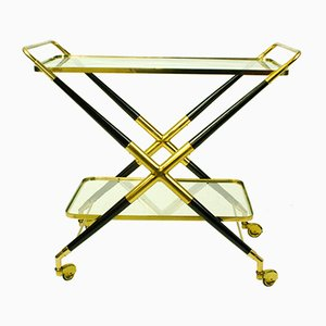 Italian Mid-Century Serving Cart by Cesare Lacca