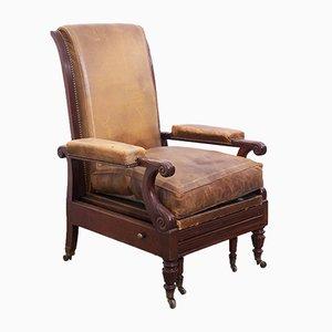 Reclining Arm Chair, 1860s
