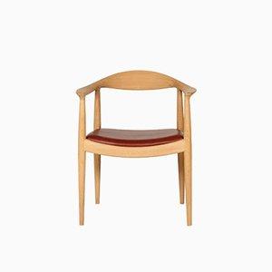 The Chair JH503 di Hans J. Wegner per Johannes Hansen Copenhagen, anni '50