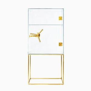 Cassaforte in cristallo di Ctrlzak per Editions Milano, 2015