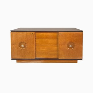 Italian Rosewood and Maple Root Dresser, 1940s