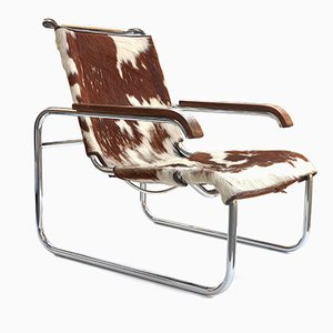 Vintage S 35 Armchair by Marcel Breuer for Thonet