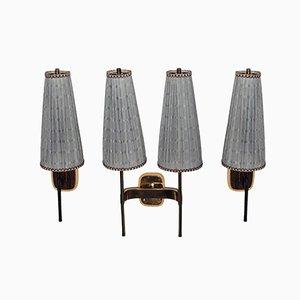 Vintage Wandlampen von J.T. Kalmar, 3er Set