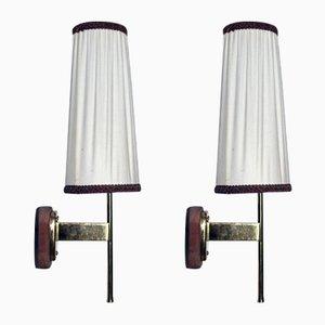 Lámparas de pared vintage de Kalmar. Juego de 2