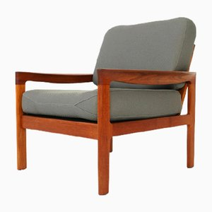 Teak Lounge Chair by Arne Wahl Iversen for Komfort Denmark, 1960s