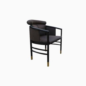 Black Austrian Armchair from Thonet, 1980s