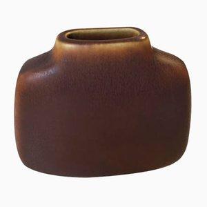 Mid-Century Hare's Fur Glasierte Keramik Vase von Per Linnemann-Schmidt für Palshus