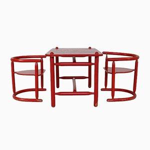 Set da bambino Anna con tavolo e due sedie di Karin Mobring per Ikea, anni '80