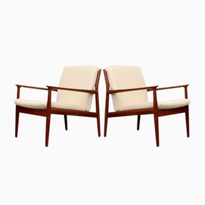 Easy Chairs by Svend-Age Eriksen for Glostrup, 1960s, Set of 2