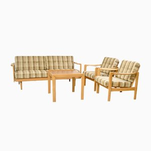 Set de Salon Scandinave, 1960s