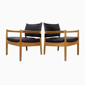 Sessel von Gunnar Myrstrand für Källemo, 1960er, 2er Set
