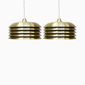 Lampes à Sspension par Hans-Agne Jakobsson AB Markaryd, 1960s, Set de 2