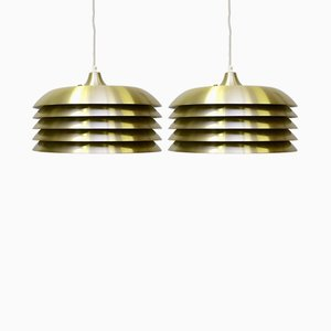 Pendant Lights by Hans-Agne Jakobsson for Hans-Agne Jakobsson AB Markaryd, 1960s, Set of 2