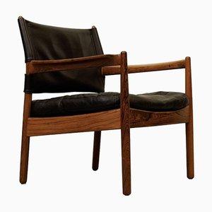 Palisander Sessel von Gunnar Myrstrand für Källemo, 1960er