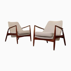 Sälen Chairs by Ib Kofod-Larsen for OPE Möbler, 1960s, Set of 2