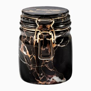 Miss Marble Portoro Jar by Lorenza Bozzoli for Editions Milano, 2015