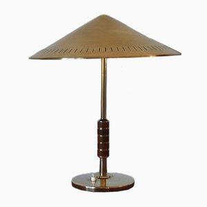 Lampe de Bureau en Laiton par Bent Karlby pour Lyfa, Danemark, 1956
