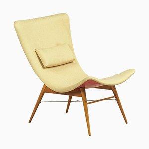 Vintage Lounge Chair by Miroslav Navrátil for Cesky Nabytek, 1960s